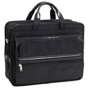"McKlein Elaston 15"" Nylon Double Compartment Laptop Briefcase"