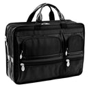 "McKlein Hubbard 15"" Nylon Double Compartment Laptop Briefcase"