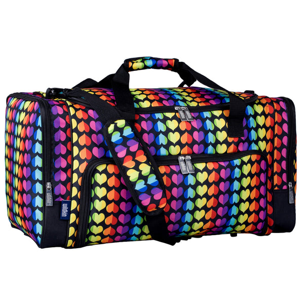 Wildkin Kids Weekender Duffel Bag - Strong Suitcases-Vegan Luggage