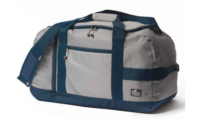 SailorBags Silver Spinnaker Racer Vegan Weekend Duffel