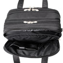 "McKlein Chicago 17"" Nylon Patented Detachable -Wheeled Laptop Overnight with Removable Briefcase"