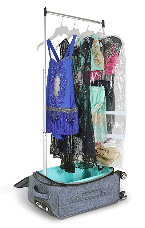 "Mavii 20"" Vegan Costume Rack Carry-On Spinner Luggage smartsuitcase-com.myshopify.com"