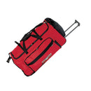 "Goodhope Bags 30"" Red Rolling Duffel Bag - Strong Suitcases-Vegan Luggage"