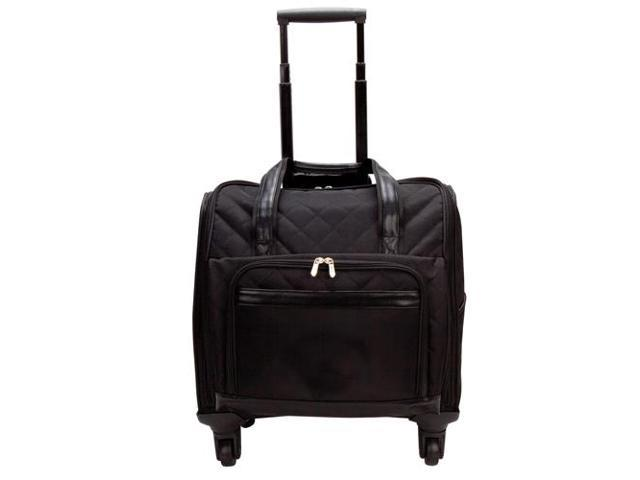 Goodhope Bags The Savvy 360-degree Rolling Computer Weekender Bag - Strong Suitcases-Vegan Luggage