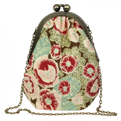 Amy Butler Pretty Lady Mini Bag Purse