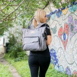Kalencom NOLA Eco-friendly Vegan Diaper Backpack - Strong Suitcases-Vegan Luggage