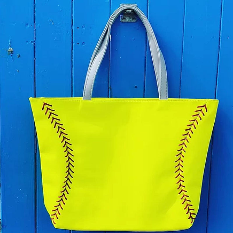 Zumer Sport Women's Vegan Softball Purse Tote Handbag - Strong Suitcases-Vegan Luggage