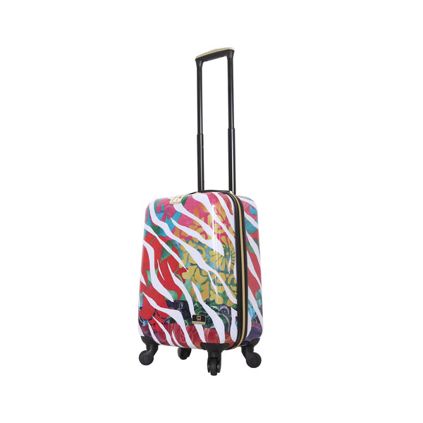 "Halina Bee Sturgis Serengeti Reflections 24"" Spinner Suitcase - Strong Suitcases-Vegan Luggage"