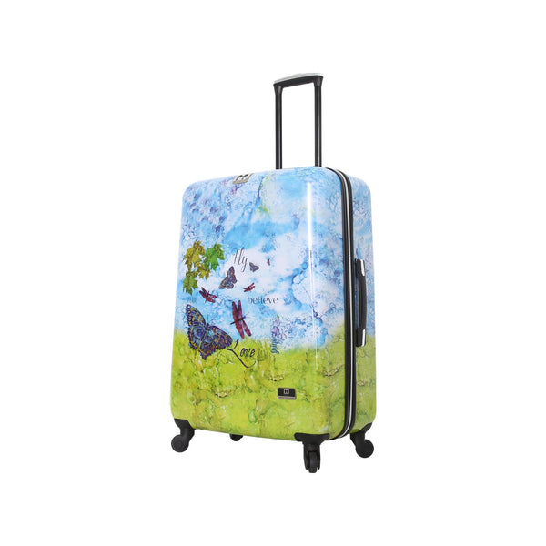 "Halina Bee Sturgis Fly Dream 28"" Spinner Suitcase - Strong Suitcases-Vegan Luggage"