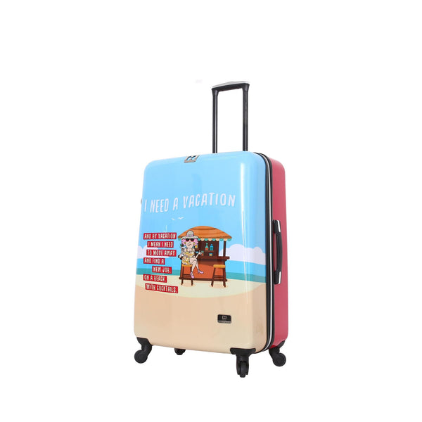 "Halina Aunty Acid Vacation 28"" Spinner Suitcase - Strong Suitcases-Vegan Luggage"