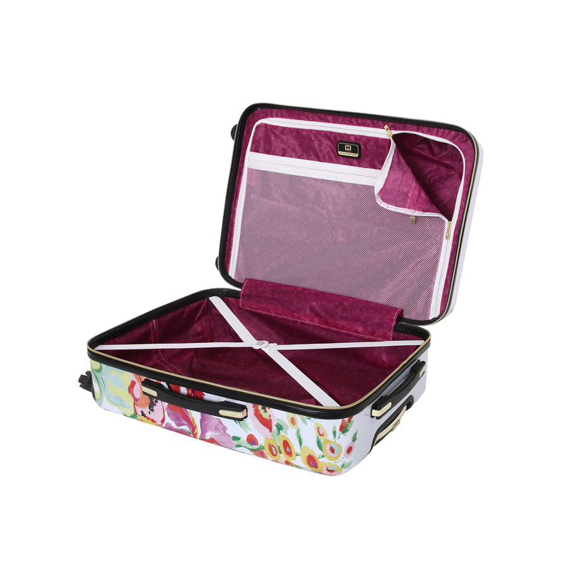 Halina Collier Campbell Secret Garden 3 Piece Luggage Set - Strong Suitcases-Vegan Luggage