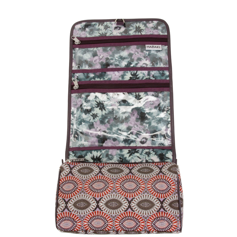 Hadaki Eco-friendly& Vegan Travel Hanging Toiletry Makeup Pod Roll-Up +FREE GIFT