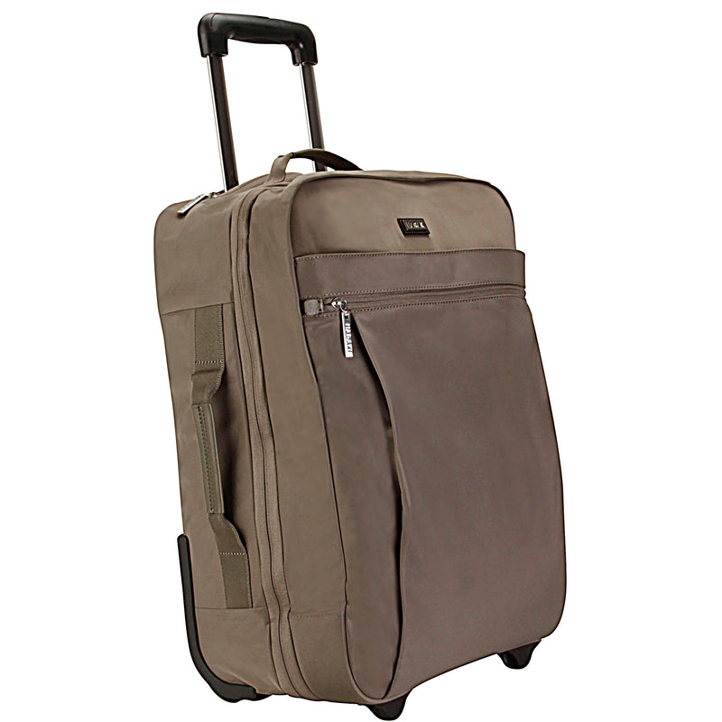 "Hadaki Eco-friendly and Vegan 18"" Plane Hopping Roller Carry on - Strong Suitcases-Vegan Luggage"