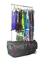 "Ecogear 28"" Wheeled Duffel with Garment Rack and Drop Bottom"
