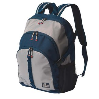 SailorBags Silver Spinnaker Daypack Vegan Backpack