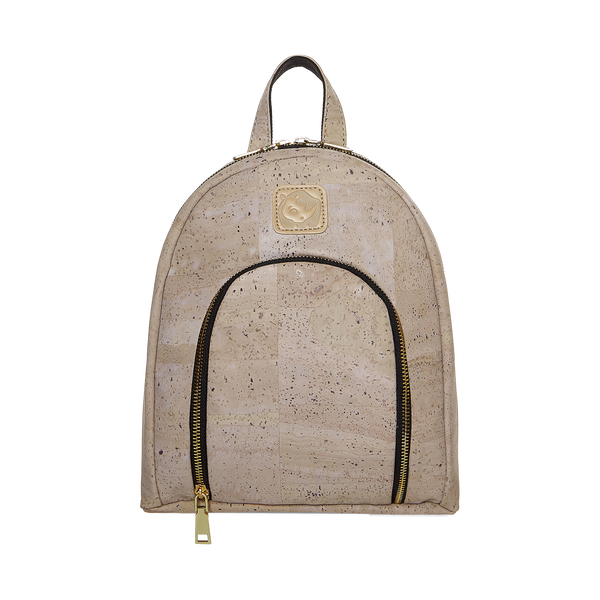 White Rhino Teddy Cork Vegan Backpack