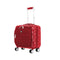 "Mia Toro ITALY Medallions 14"" Under Seat Hardside Carry on - Strong Suitcases-Vegan Luggage"