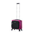 "Mia Toro ITALY Mistico 14""  Hard side Spinner Under seat Carry on Companion Bag - Strong Suitcases-Vegan Luggage"