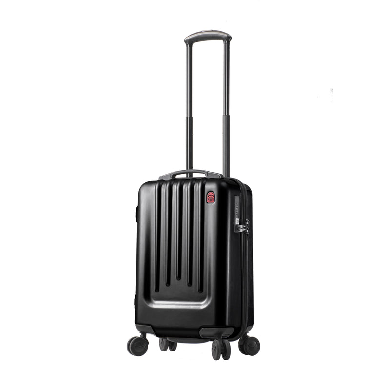 "Planet Traveler USA SC L 20"" Carry on Smart Suitcase - Strong Suitcases-Vegan Luggage"
