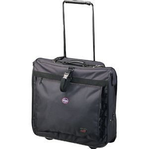 Goodhope Bags Rolling Travel Garment Bag with Wheels - Strong Suitcases-Vegan Luggage