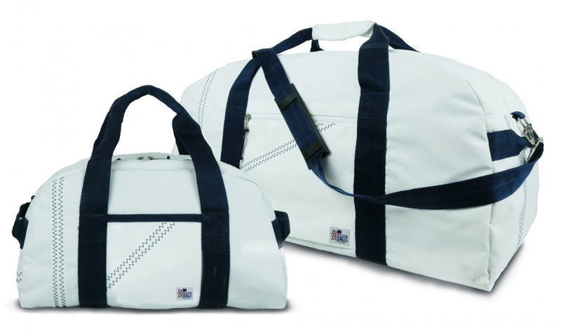SailorBags 2 Piece Set XL Square Duffel+Small Duffel 1 Day/2 Day Duffel Set