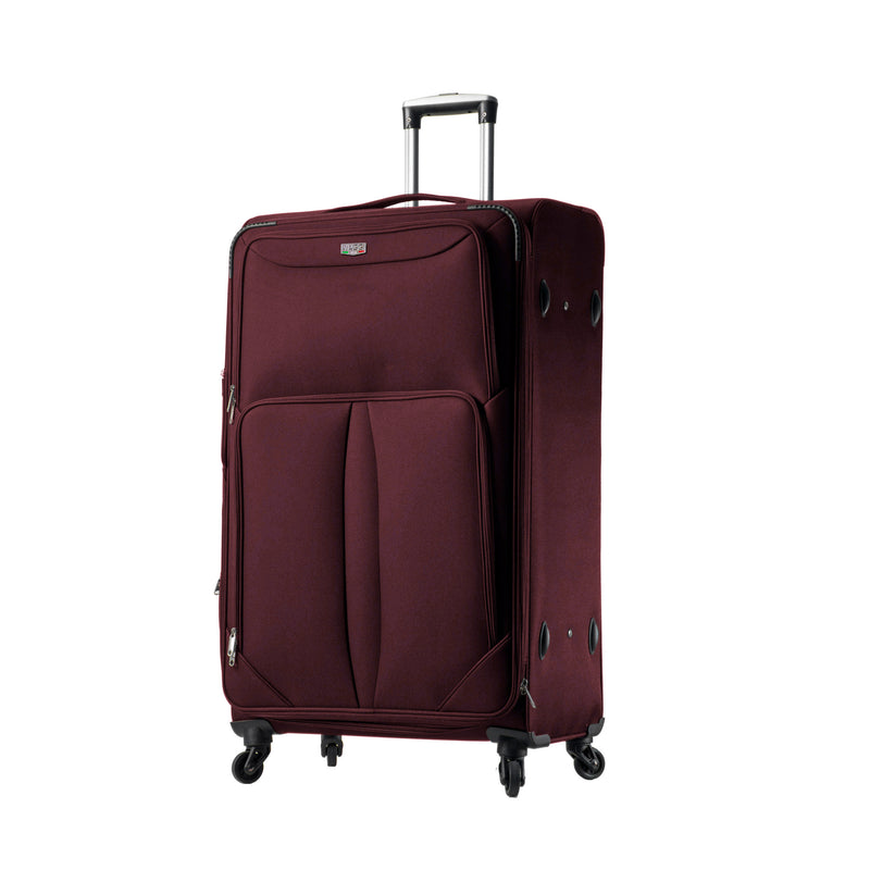 Mia Viaggi Italy Sione Softside Spinner 3Pc Luggage Set - Strong Suitcases-Vegan Luggage