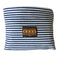 Vine Street Market USA Classic Striped Vegan Large Denim Tote