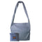 Vine Street Market USA Thin Striped Large Denim Blue Tote