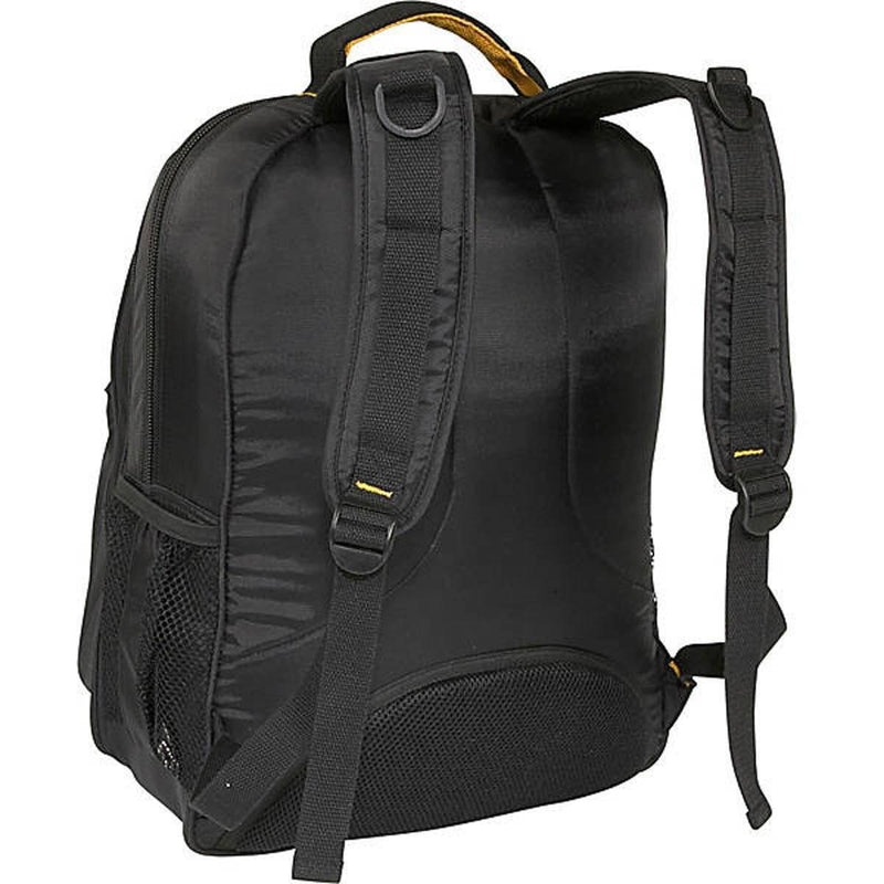A. Saks Expandable Lightweight Laptop Backpack For Work School - Strong Suitcases-Vegan Luggage