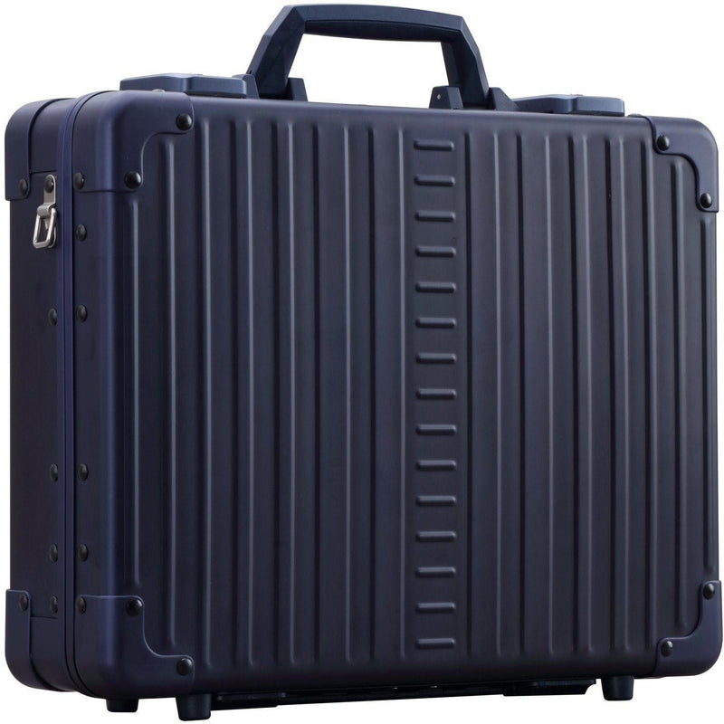 "Aleon 15"" Business Attache Aluminum Hardside Business Briefcase - Strong Suitcases-Vegan Luggage"
