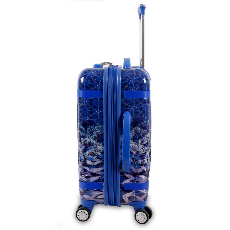 J World New York TAQOO-ART Expandable lightweight Carry On+Free Bag - Strong Suitcases-Vegan Luggage