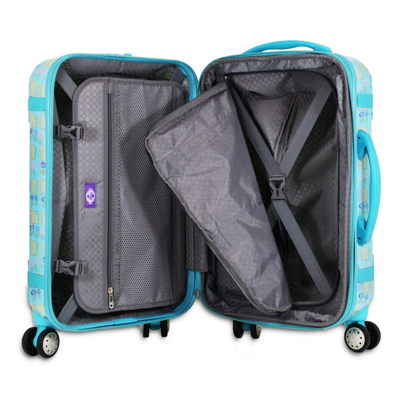 J World New York TAQOO Polycarbonate Expandable Travel Carry on Luggage+Free Bag - Strong Suitcases-Vegan Luggage