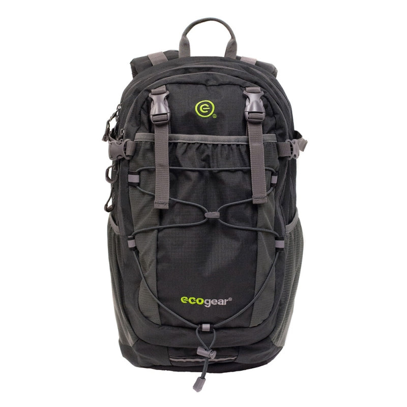 Ecogear Grizzly Laptop Backpack +Free Bottle - Strong Suitcases-Vegan Luggage