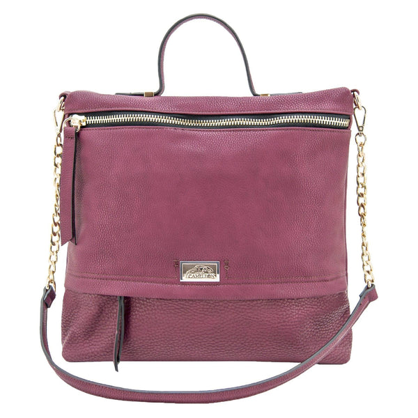 Cameleon Aphrodite Vegan Leather Handbag Shoulder Bag With CCW Compartment - Strong Suitcases-Vegan Luggage