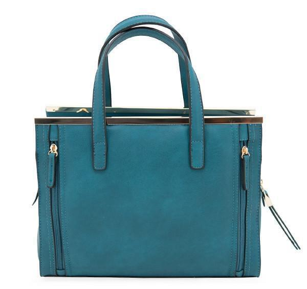 Cameleon Cora Vegan Leather Classic Handbag Shoulder Bag With CCW Compartment - Strong Suitcases-Vegan Luggage