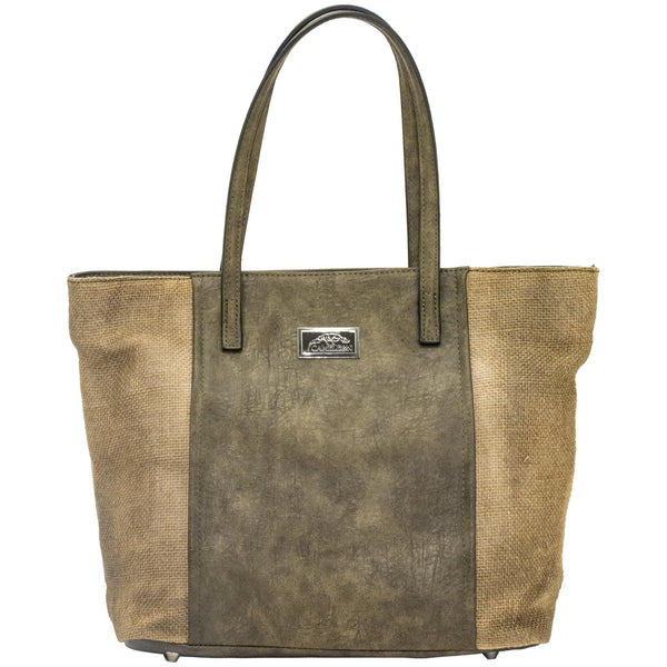 Cameleon Theia Vegan Leather Handbag With CCW Compartment Tote - Strong Suitcases-Vegan Luggage