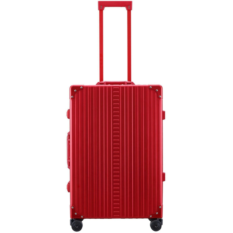 "Aleon 26"" Traveler Medium Size All-Purpose Aluminum Hardside Checked Luggage Free Shipping - Strong Suitcases-Vegan Luggage"