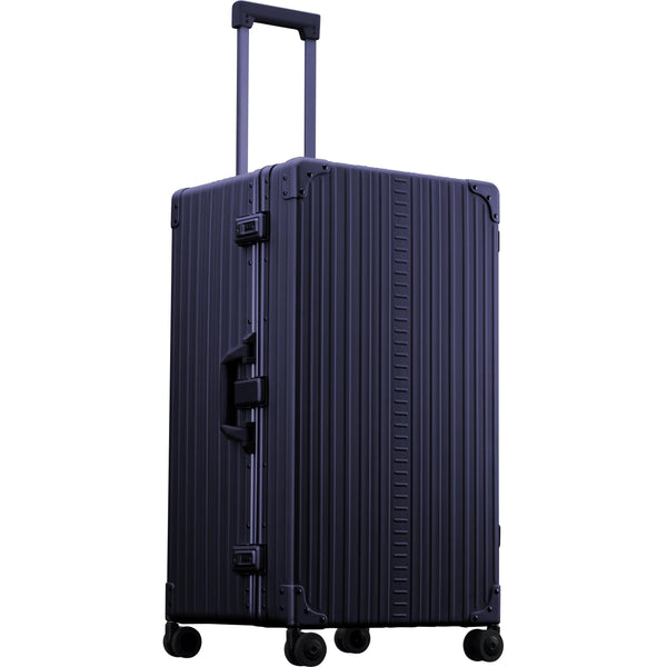 "Aleon 30"" International Trunk Aluminum Hardside Checked Luggage Free Shipping - Strong Suitcases-Vegan Luggage"