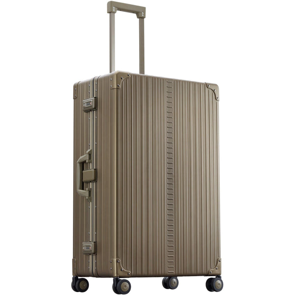 "Aleon 30"" Macro Traveler Aluminum Hardside Checked Luggage Free Shipping - Strong Suitcases-Vegan Luggage"