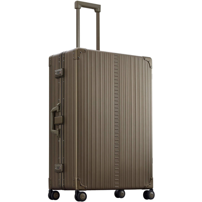 "Aleon 32"" Macro Traveler Aluminum Hardside Checked Luggage Free Shipping - Strong Suitcases-Vegan Luggage"