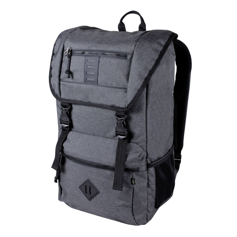 "Ecogear Eco-friendly Pika Commuter Water-resistant Laptop Backpack Fits up to 15"" Laptop+Free Bottle - Strong Suitcases-Vegan Luggage"