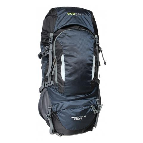 Ecogear Pinnacle 80L Hiking Vegan Recycled Backpack