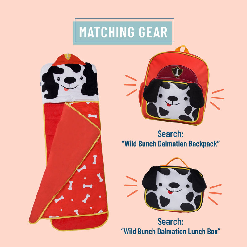 Wildkin Dalmatian 3 Piece Set Plush Nap Mat+Lunch Box+Backpack Bundle offer
