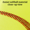 Zumer Sport Softball Duffel Bag Full-Size Travel Duffel Carry-On Bag - Strong Suitcases-Vegan Luggage