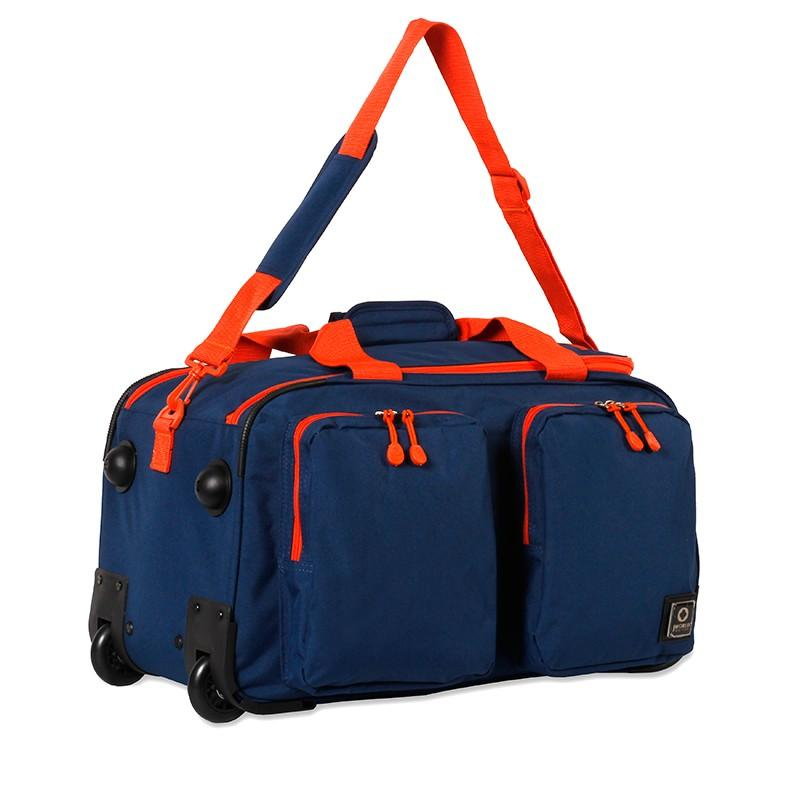 "J World New York DUANE 21"" Travel Rolling Duffel Bag+Free Bag - Strong Suitcases-Vegan Luggage"