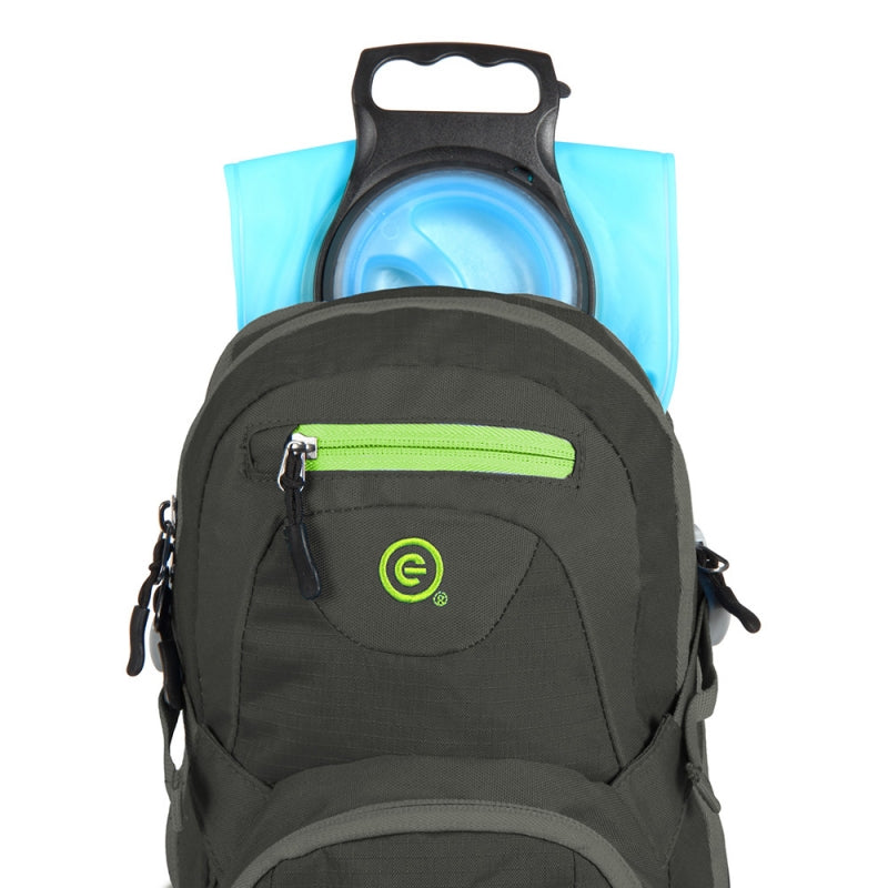 Ecogear Water Dog 2L Hydration Backpack With Water Bladder+Free Bottle - Strong Suitcases-Vegan Luggage