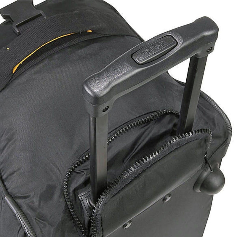 "A. Saks 20"" Expandable Lightweight and Durable 420D Nylon Wheeled Duffel Free Shipping - Strong Suitcases-Vegan Luggage"