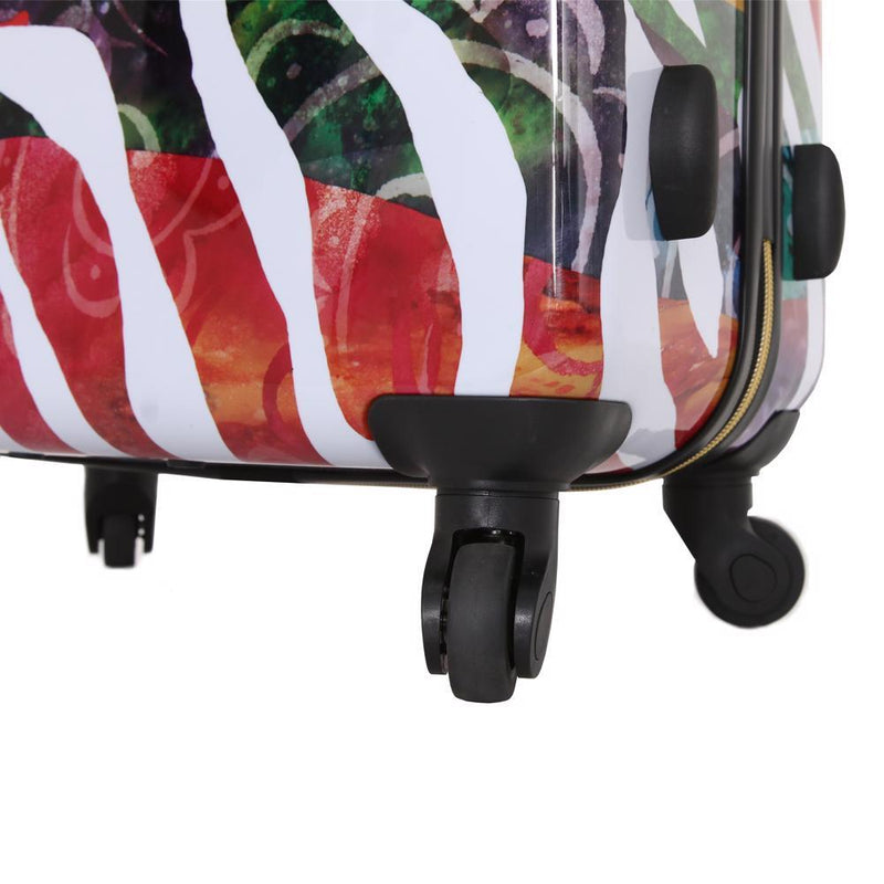 "Halina Bee Sturgis Serengeti Reflections 20"" Carry on Spinner Suitcase - Strong Suitcases-Vegan Luggage"
