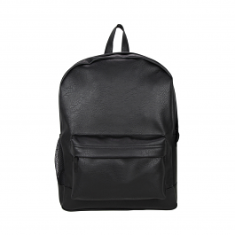 Goodhope Bags Vegan Leather Women's Black Backpack - Strong Suitcases-Vegan Luggage