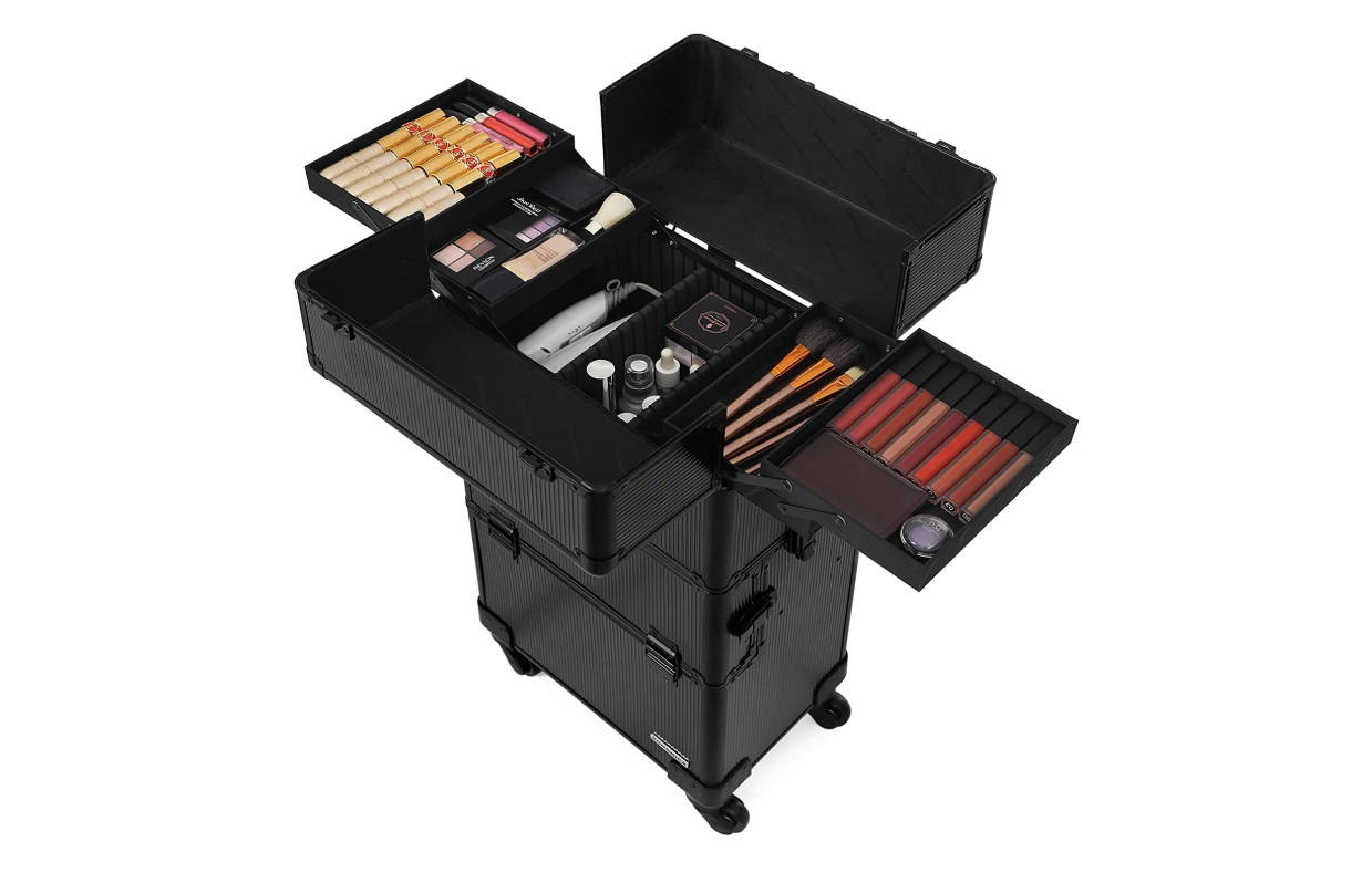 Make-up trolley zwart